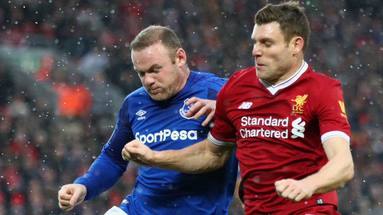 Derby Everton vs Liverpool