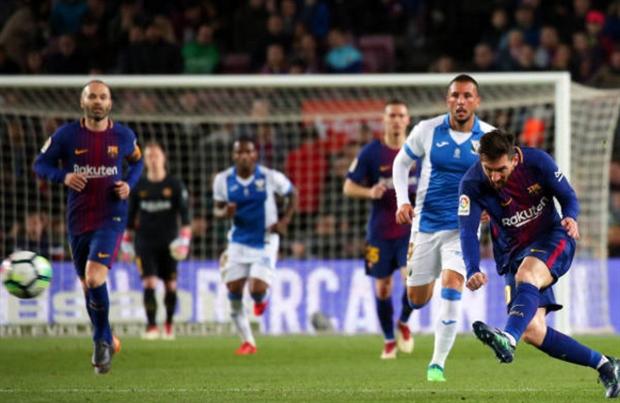 Messi và 8 cột mốc sau màn 'tàn sát' Leganes - Bóng Đá