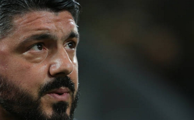 Bị đội bóng chót bảng đánh bại, Gattuso thất thần trên băng ghế chỉ đạo - Bóng Đá
