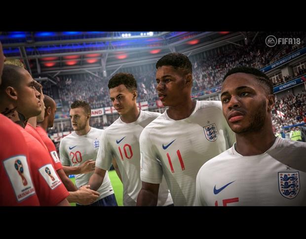 World Cup 2018 đẹp lung linh trong FIFA 18 - Bóng Đá