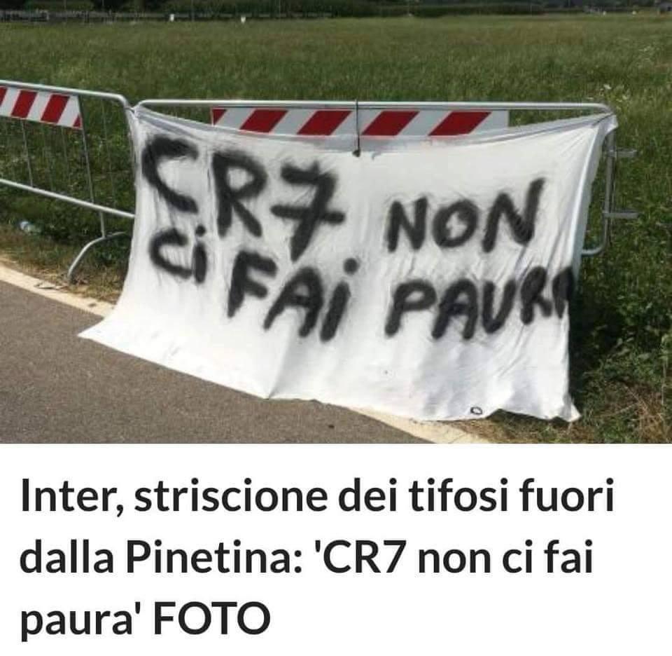 Ronaldo vừa tới Juventus, Fan Inter đã kéo đi hăm dọa - Bóng Đá
