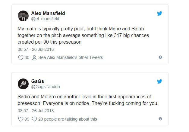 Mane và Salah như đến từ hành tinh khác - Bóng Đá