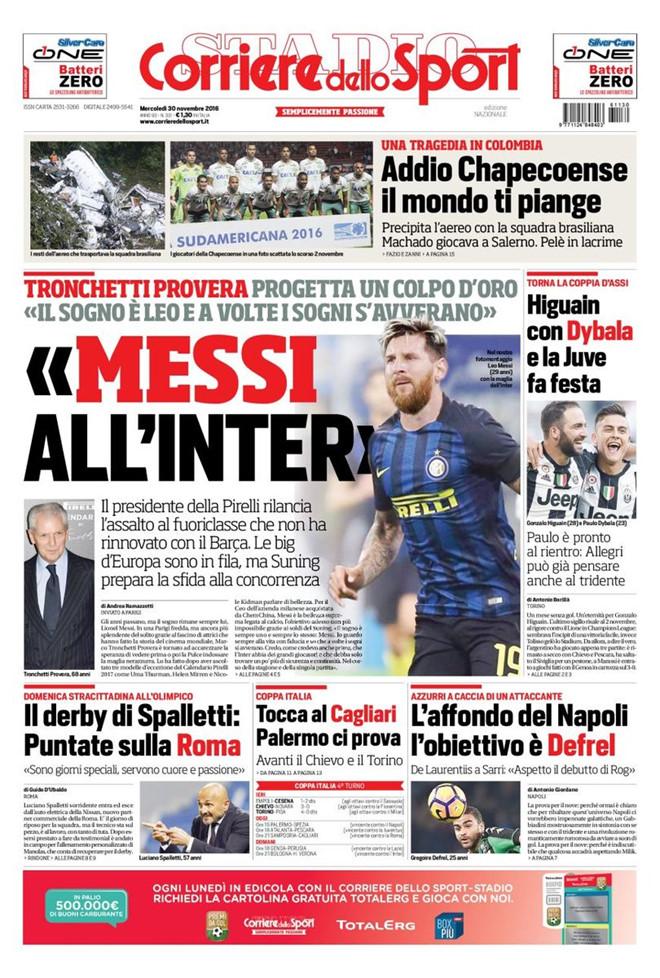 Inter chính thức lên tiếng về việc mua Messi - Bóng Đá