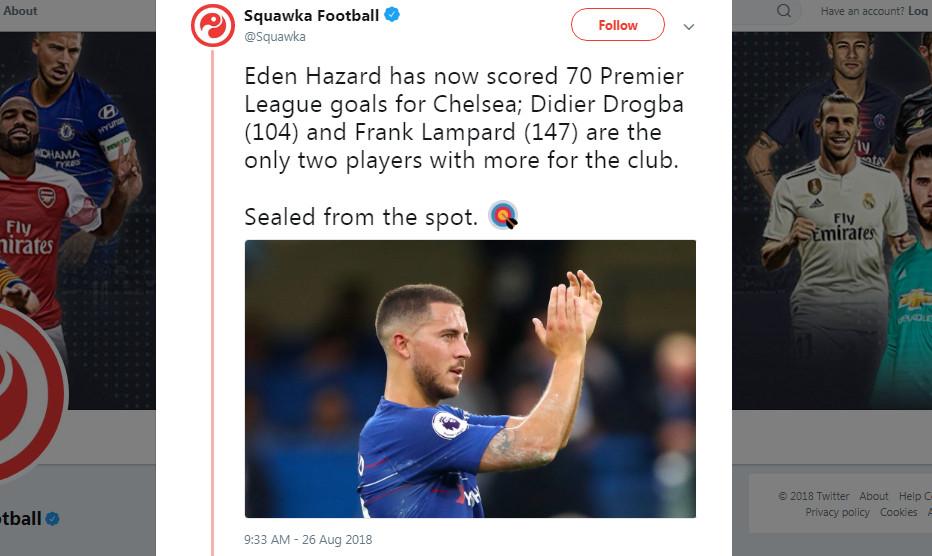 Góc Chelsea: Vì sao Hazard hoàn hảo nhất dưới thời Sarri? - Bóng Đá