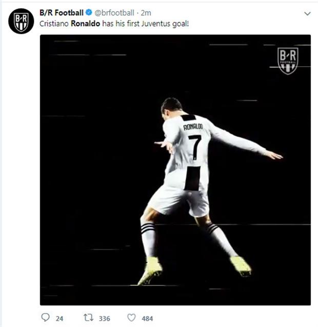Truyền thông bùng nổ với bàn thắng đầu tiên của Ronaldo - Bóng Đá