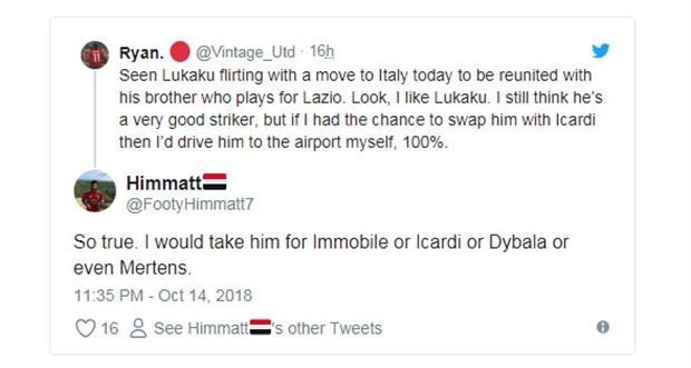 'Lukaku muốn rời Man Utd, có gì phải ngạc nhiên?' - Bóng Đá