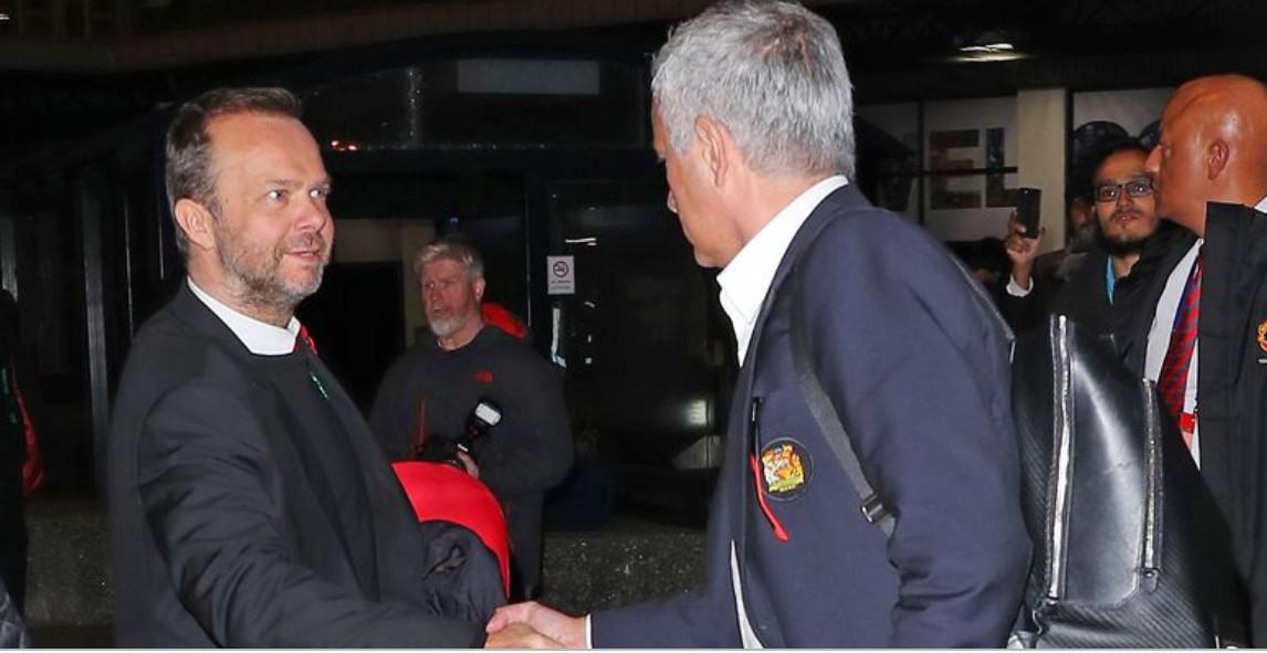 Mourinho và Ed Woodward cùng thống nhất về 1 vấn đề - Bóng Đá