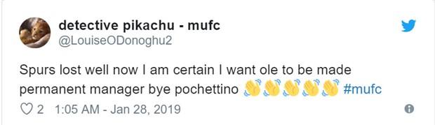 Tottenham gặp hạn, fan Man Utd 'dìm hàng' Pochettino  - Bóng Đá
