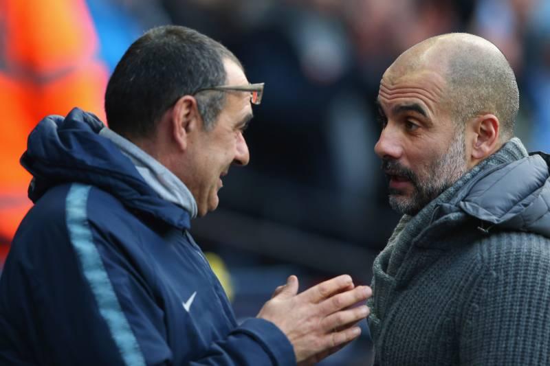 Guardiola khuyên Sarri điều gì sau thảm bại tại Etihad - Bóng Đá