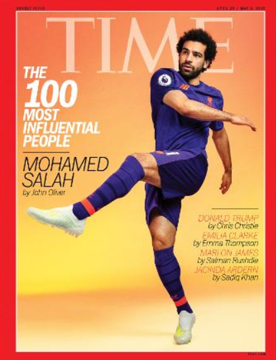 Lên bìa Time, sức ảnh hưởng của Salah quá khủng khiếp - Bóng Đá