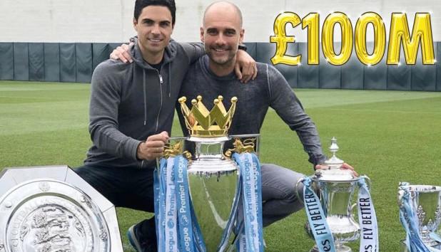 Man City sẵn sang chỉ 100 triệu bảng để giữ chân Guardiola - Bóng Đá