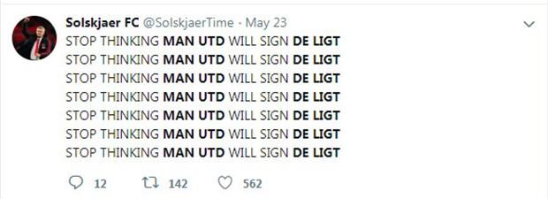 CĐV Man Utd vẫn rất tỉnh trước tin đồn về De Ligt - Bóng Đá