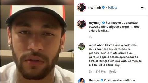 Neymar khóc nức nở trước cáo buộc hiếp dâm - Bóng Đá