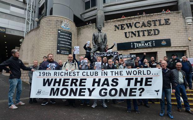 Benitez ra đi, CĐV biểu tình phản đối ông chủ Newcastle  - Bóng Đá