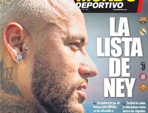 Về Barcelona chẳng được, Neymar làm điều
