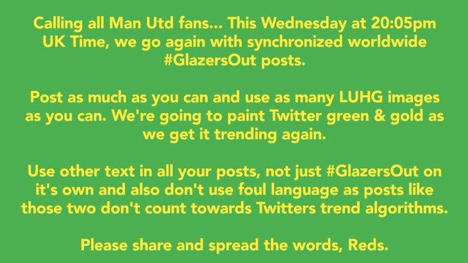 CĐV Man Utd lại kêu gọi biểu tình - Bóng Đá