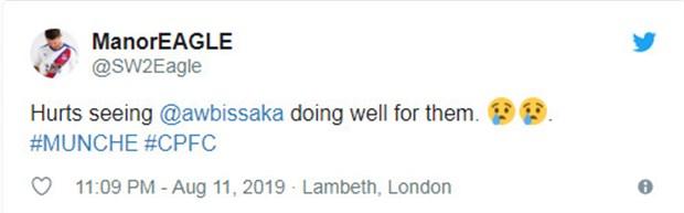 CĐV Crystal Palace nói gì về màn ra mắt của Wan-Bissaka tại Man Utd? - Bóng Đá