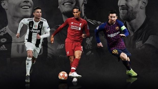 Các bại tướng của Ronaldo, Messi và Van Dijk nhận được bao nhiêu điểm? - Bóng Đá