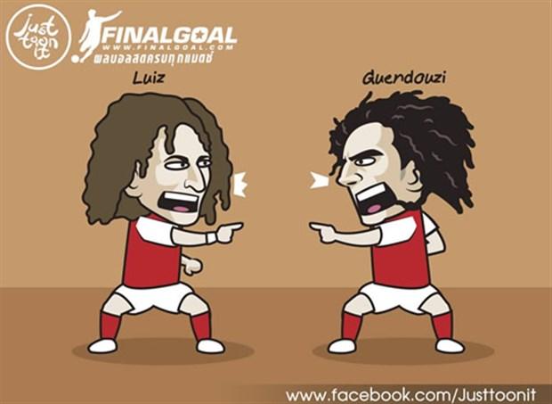 CĐV Arsenal rần rần với cặp