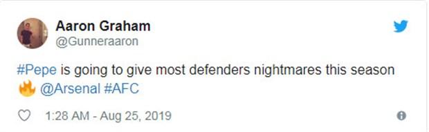 CĐV Arsenal đánh giá thế nào về màn ra mắt của bom tấn? - Bóng Đá