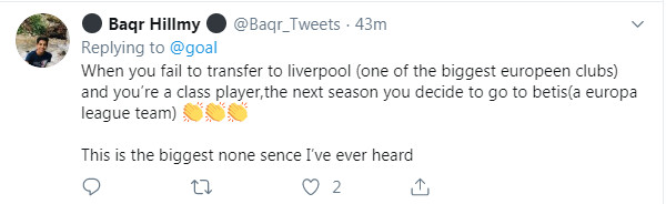 Bị Fekir vạch trần sự thật, CĐV Liverpool nói gì? - Bóng Đá