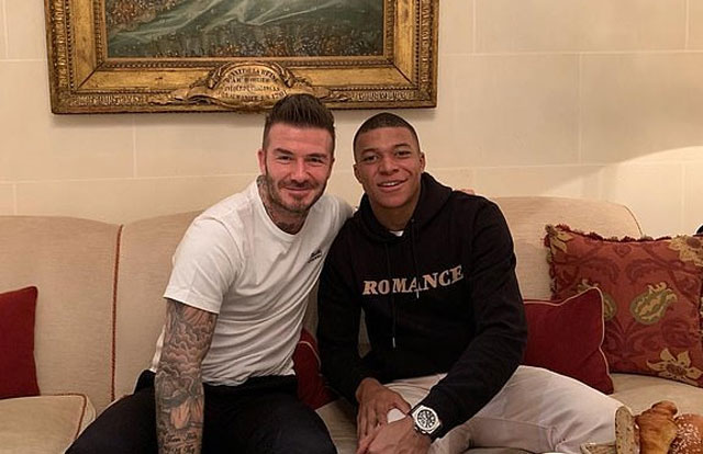 Beckham muốn làm người đại diện cho Mbappe - Bóng Đá
