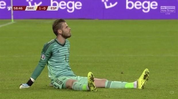 Chấn thương, De Gea vẫn tới sân tập của Man Utd - Bóng Đá