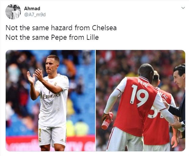 Hazard - Pepe: Ứng viên cho giải thưởng