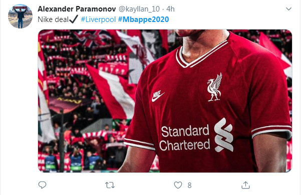 Có Nike hậu thuẫn, CĐV Liverpool