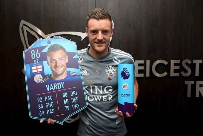 Ở tuổi 32, Vardy đang vượt cả Messi - Bóng Đá