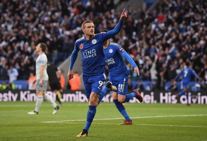 Âm thầm tiến bước, Jamie Vardy đi vào lịch sử Leicester - Bóng Đá