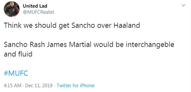 CĐV Man Utd tẩy chay Haaland: