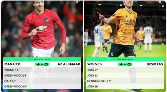 4 bàn 11 phút, đâu chỉ Man Utd làm được vào đêm qua - Bóng Đá