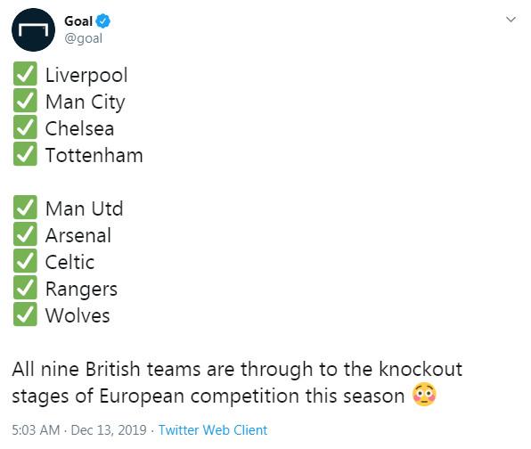 9 đại diện của Vương Quốc Anh