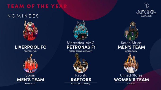 Liverpool trở thành ứng viên cho giải thưởng