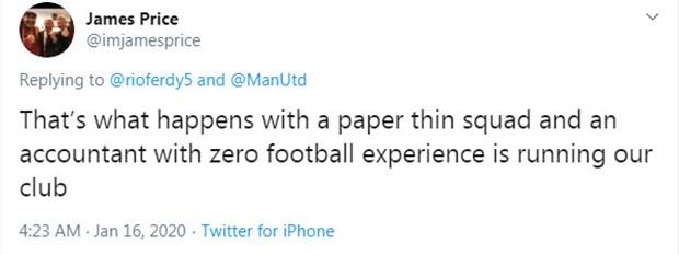 Rashford chấn thương, CĐV Man Utd
