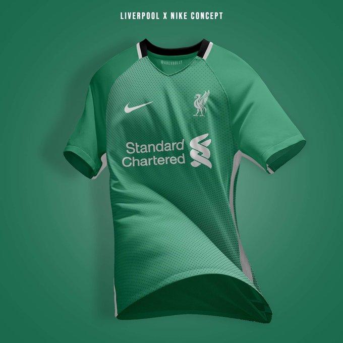 Lộ mẫu áo cực độc mới của Liverpool - Bóng Đá