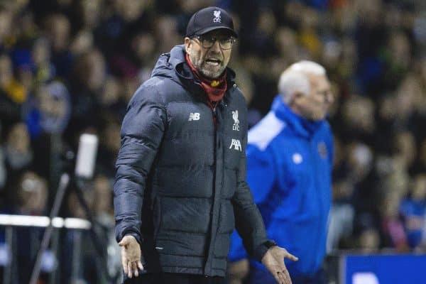 Phản đối FA, Klopp sẽ không dự trận đá lại với Shrewsbury Town? - Bóng Đá