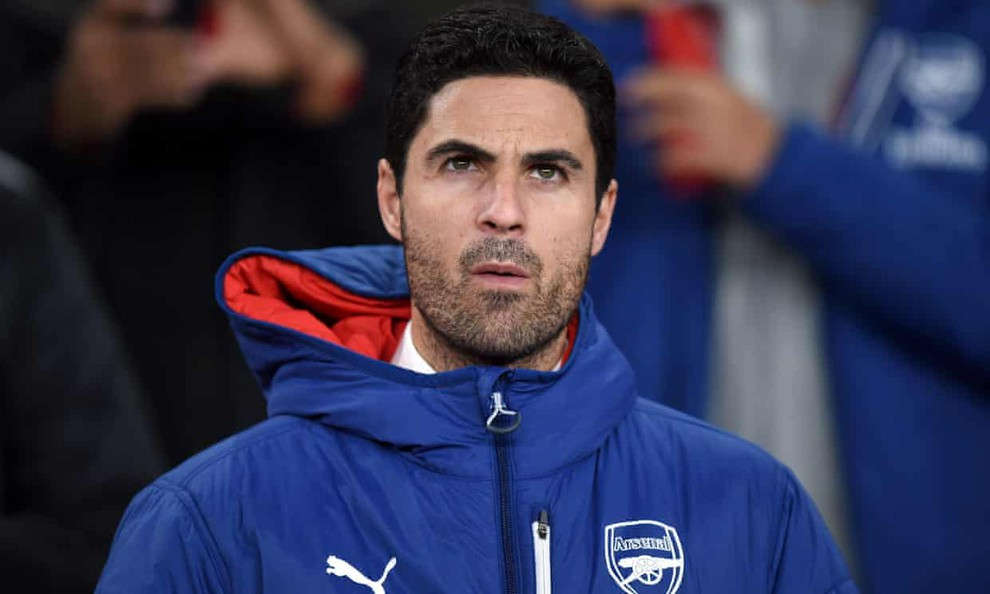 Mikel Arteta (W1 D5 L1) is just the second Arsenal manager to win only one of his first seven league games - Bóng Đá