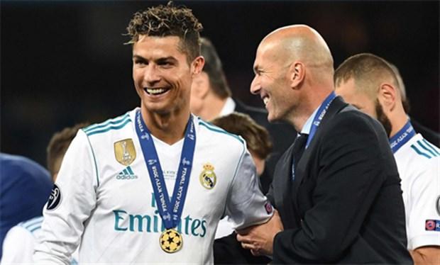 Tá.i ngộ. Ronaldo, kế. hoạ.ch của Zidane là. gì.? - Bó.ng Đá.
