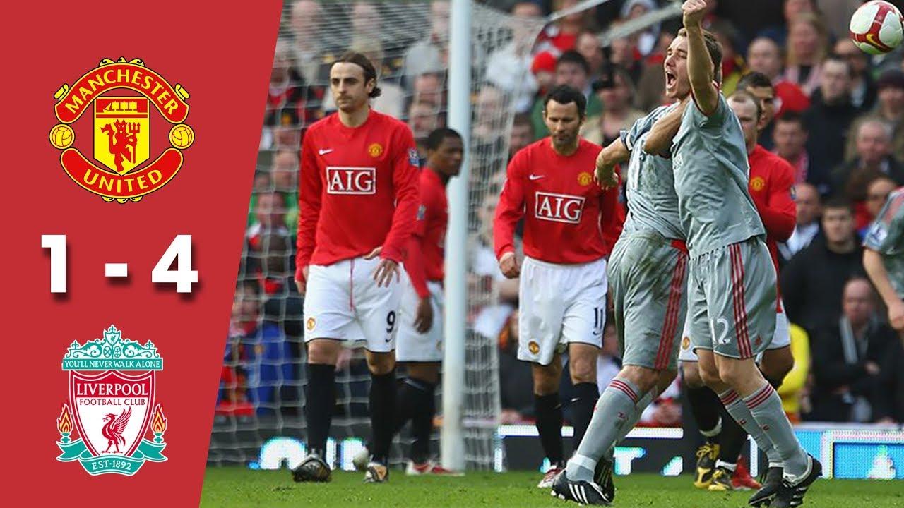 Ngà.y nà.y nă.m xư.a, Liverpool nghiề.n ná.t Man Utd tạ.i Old Trafford - Bó.ng Đá.