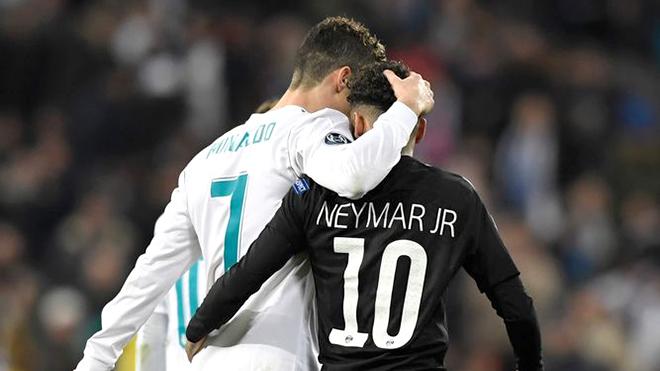neymar, ronaldo là tiêu chuẩn của tôi - Bóng Đá