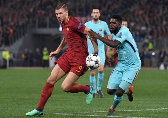 Barca gục ngã trước Roma vì Man United - Bóng Đá