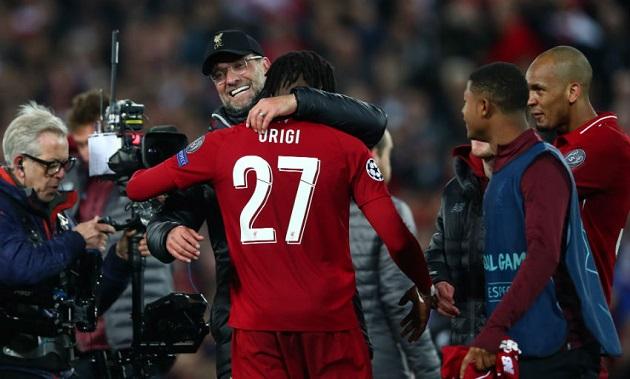 Origi: Tôi đã tập luyện cho bàn thắng vào lưới Barca - Bóng Đá