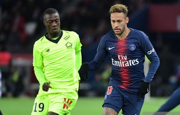 Liverpool and Man Utd target Nicolas Pepe 'wants PSG transfer as Neymar replacement' - Bóng Đá