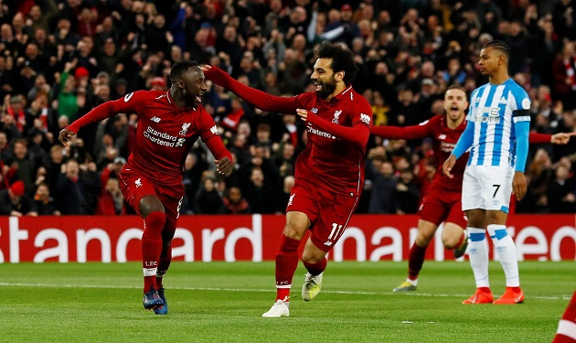 Naby Keita on Mohamed Salah: 'He looks after me like I'm his little brother' - Bóng Đá