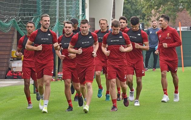 Liverpool Players Begin Slow Return to Training - Bóng Đá