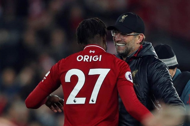 Jürgen Klopp: Divock Origi's new contract is a 'win-win situation' - Bóng Đá