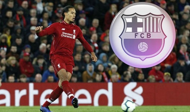 Liverpool fans will love how Virgil van Dijk's agents reacted to Barcelona enquiry - Bóng Đá