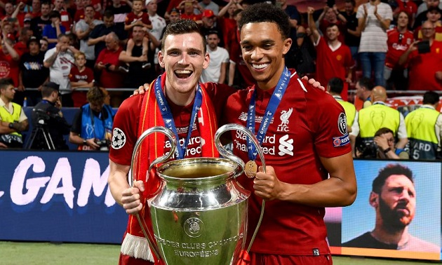 Andy Robertson: The assist competition with Trent will be back - Bóng Đá